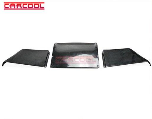 Difusor trasero de fibra de vidrio con estilo para coche divisor 3 uds Kit de carrocería para FRP 02-05 350Z Z33 Rocket Bunny Estilo RB