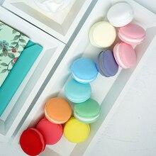 Faux Macarons en argile 4.5cm   2 pièces, faux macarons, décoration de gâteau multicolore, pour accessoires de photographie en vitrine