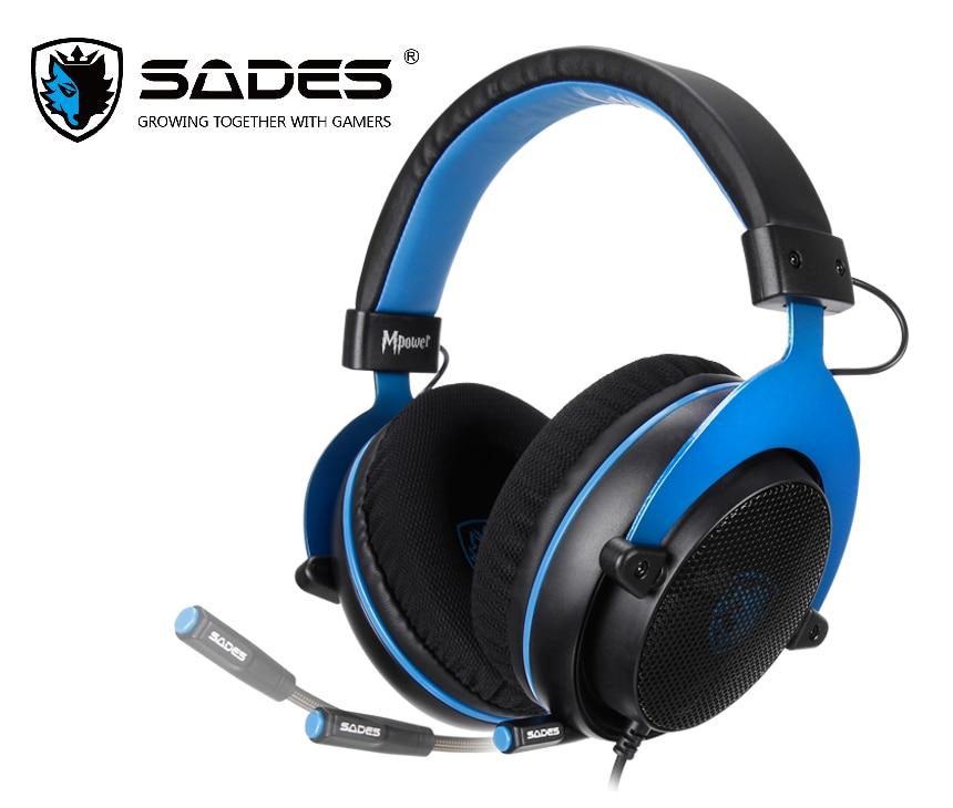 SADES Gaming Heaset Mpower 3,5 мм для ПК/ноутбука/PS4/Xbox One (версия 2015)/Mobile/VR/Nintendo Switch
