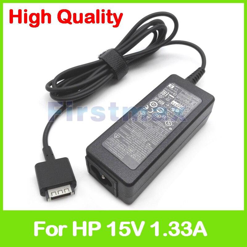 15V 1.33A 20W Laptop AC Cargador/adaptador de corriente para HP SlateBook 10-h011ru x2 10-h027ru 714656-001 714856-001 714148-001