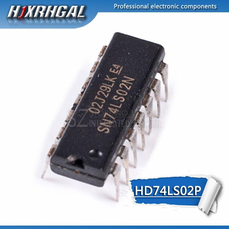10pcs HD74LS02P DIP14 HD74LS02 DIP SN74LS02N 74LS02 7402