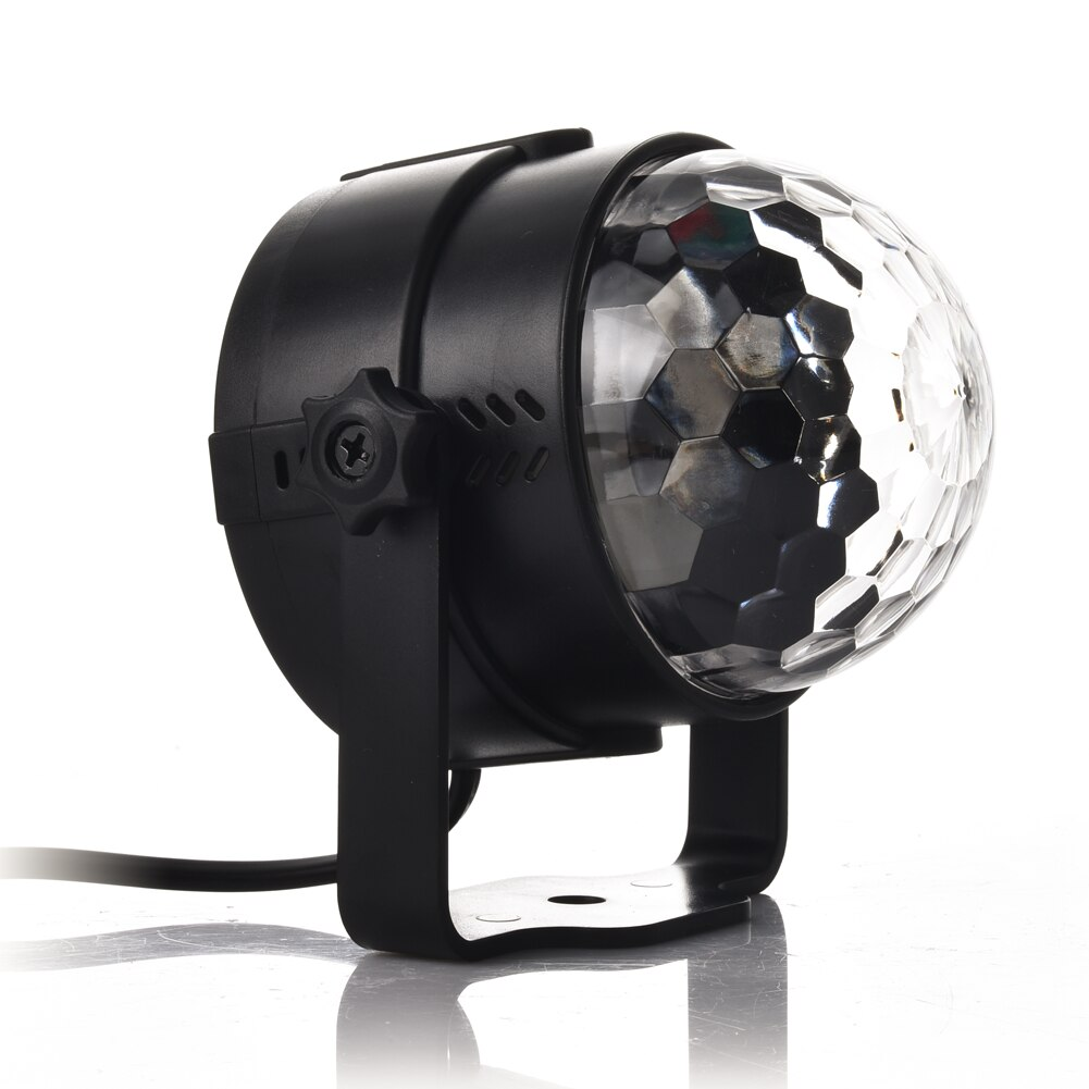 3w usb 5v mini disco ball lamp dj ktv stage light wireless ir remote voice activated lamp home party dance floor rgb light show Holiday Lighting 3W Mini RGB Crystal Magic Ball Led Stage Lights DJ KTV Disco Party Lamp IR Remote Control Christmas Projector