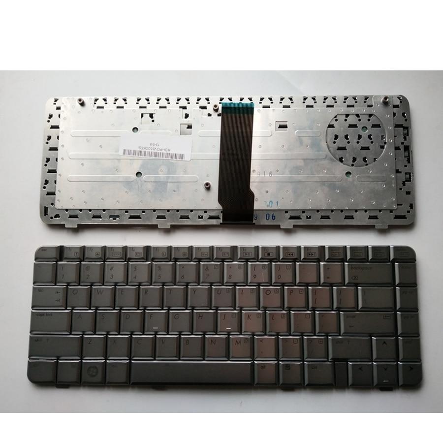 ¡Nuevo! Teclado Inglés YALUZU para ordenador portátil HP DV3500 DV3000 DV3200 DV3700 DV3011 DV3800 color plata