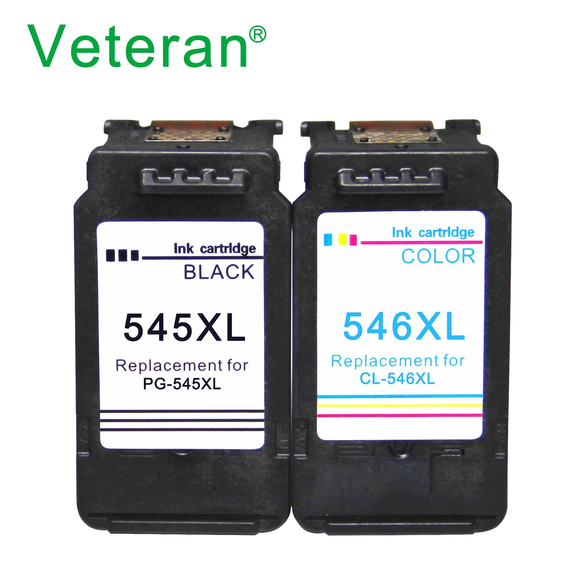 Veteran nachgefüllt PG545 CL546 Tinte Patrone für Canon PG 545 CL 546 545XL für Canon Pixma IP2850 MX495 MG2450 MG2550 MG2950 NS28