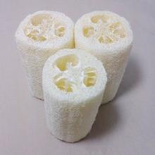 Natural Loofah Luffa Bath Shower Wash Body Pot Bowl Sponge Scrubber dishwashing Brushes Bathroom Supplies
