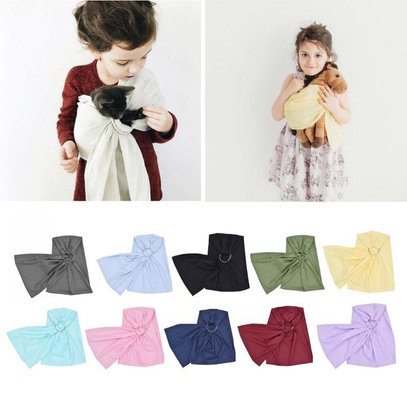 Portador de muñecas para bebé Mei Tai Sling juguete para chicos, niños, bebés regalo anillo Sling 10 opciones nuevo