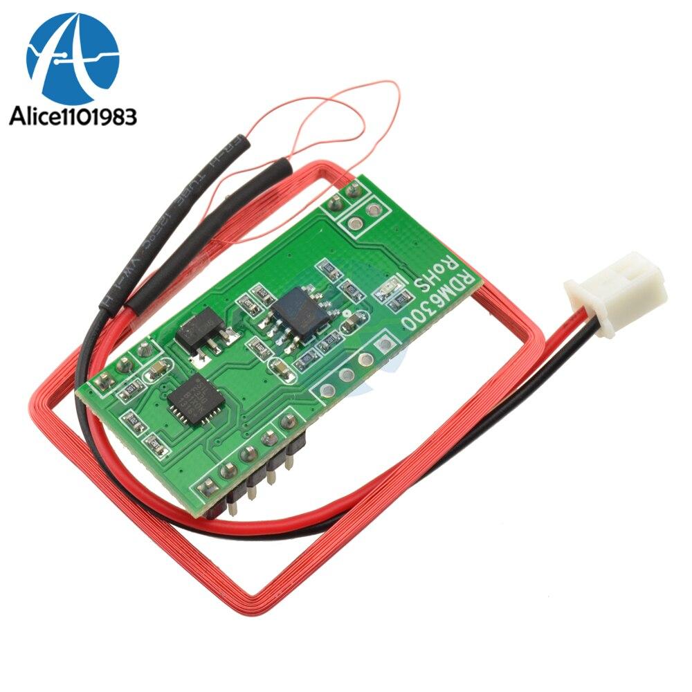 125K EM4100 RFID считыватель карт Модуль RDM6300 ID RF Модуль UART Выход для Arduino для контроля доступа посещаемость для зарядки RS232