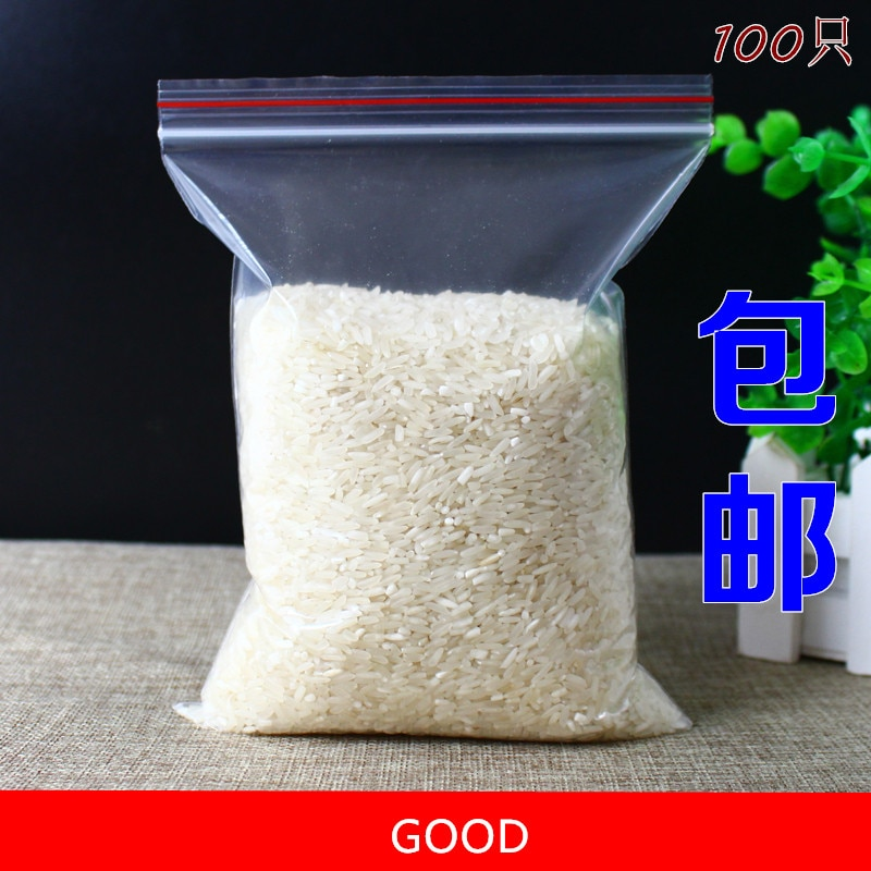 100 unidades/pacote 9*13cm jewelry ziplock presente saco fecho de correr fechamento reclosable plástico poli sacos claros espessura 0.05mm