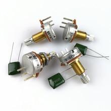 Латунный вал A25K с потенциометром (кастрюля) для электрогитары, басов, активного пикапа TQ 25 K, 1 шт.