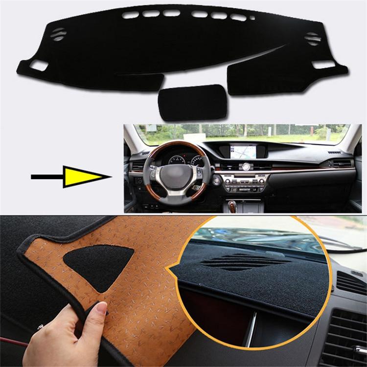 Salpicadero Interior alfombra almohadilla protectora de fotofobia Mat para Lexus ES 2013-2015
