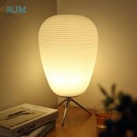 Nordic Minimalist Desk Lamp Bedroom Bedside Lamp Energy Saving Eye Study Living Room Led Glass Decorative Lamp