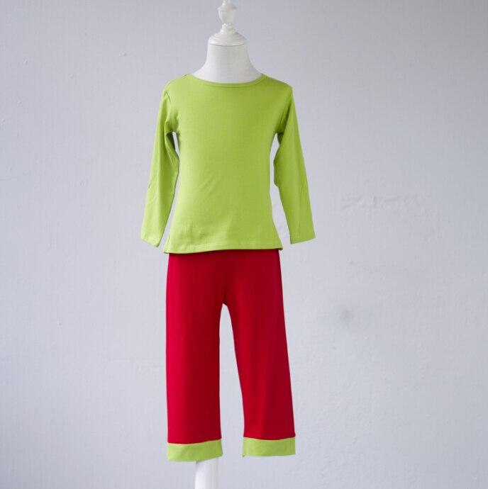 بيجامات قطنية طويلة الأكمام للأطفال, ملابس نوم للأطفال من بوتيك