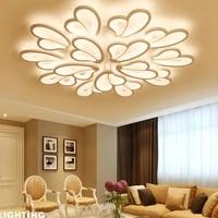 Telecommande acrylique moderne lustre interieur decoration de la maison mode LED lustre