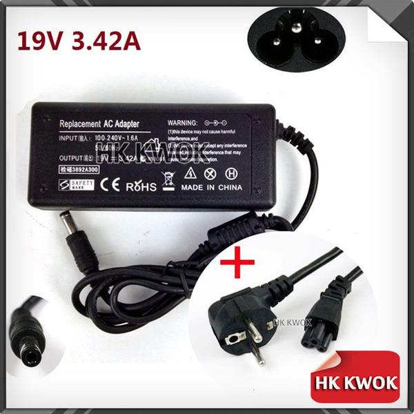 Neue eu kabel + 19 v 3.42a 5,5x2,5mm ac adapter ladegerät für lenovo adp-65ch pa-1560-52lc adp-65yb 0712a1965 serie kostenloser versand