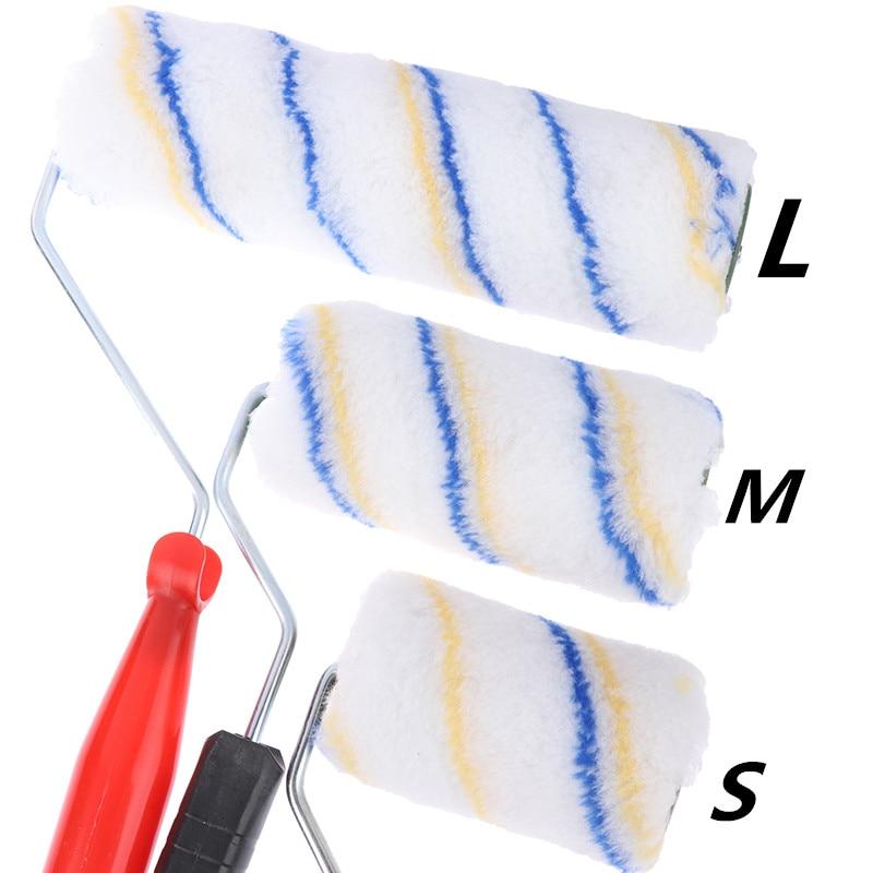 1pc prático multifuncional pintura rolo escova uso doméstico escovas de parede enfrentar rolo decorativo pintura escova ferramenta