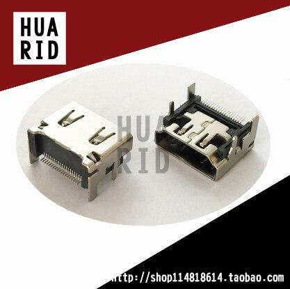 20 pcs/HDMI SMT SMD Soquete assento Mãe de 90 graus HDMI Conectores de Interface