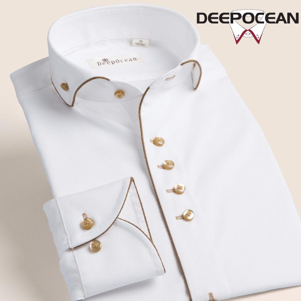 Мужская рубашка с длинным рукавом, чисто белая мужская рубашка, деловые повседневные рубашки, хлопковые рубашки, Мужская модная мужская оде...