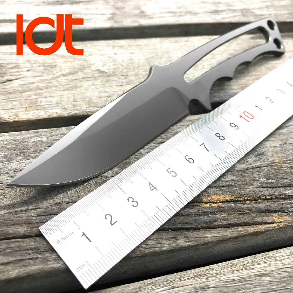LDT cuchillo CPM S35VN hoja de cuchillo de combate táctico Camping supervivencia cuchillos de caza al aire libre militar EDC bolsillo herramienta de OEM
