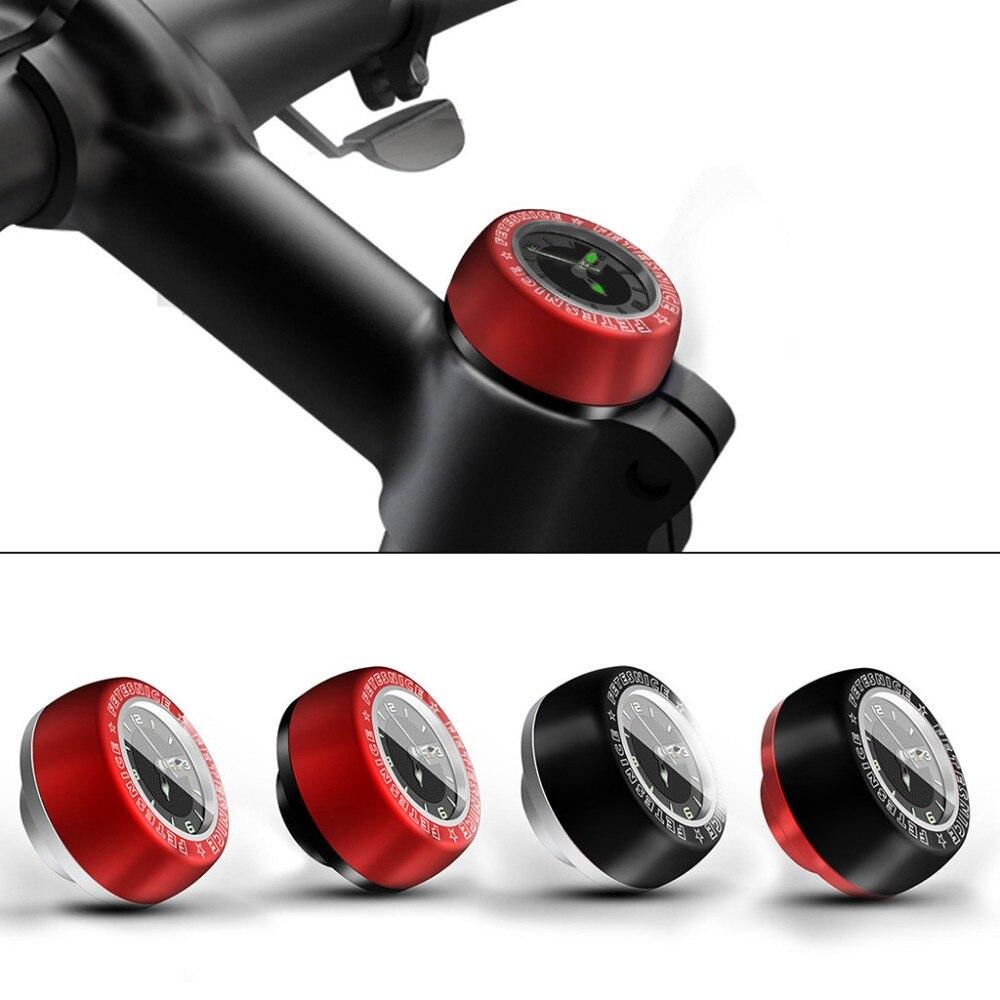 Водонепроницаемые велосипедные часы LuminouHeadset Stem, часы для компьютера, велосипеда, автомобиля, запчасти для велосипедной головки, гарнитура часов, верхняя крышка, крышка для ствола