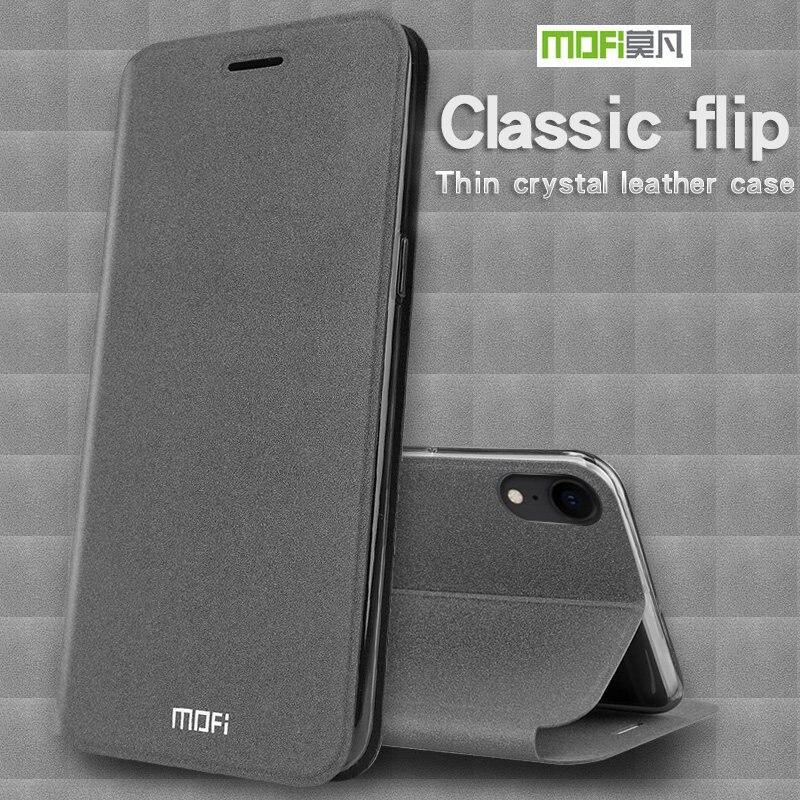 Funda MOFI para iPhone XS Max/XR, funda de lujo con tapa de piel sintética, funda de silicona para iPhone XS, funda para iPhone 10 a prueba de golpes