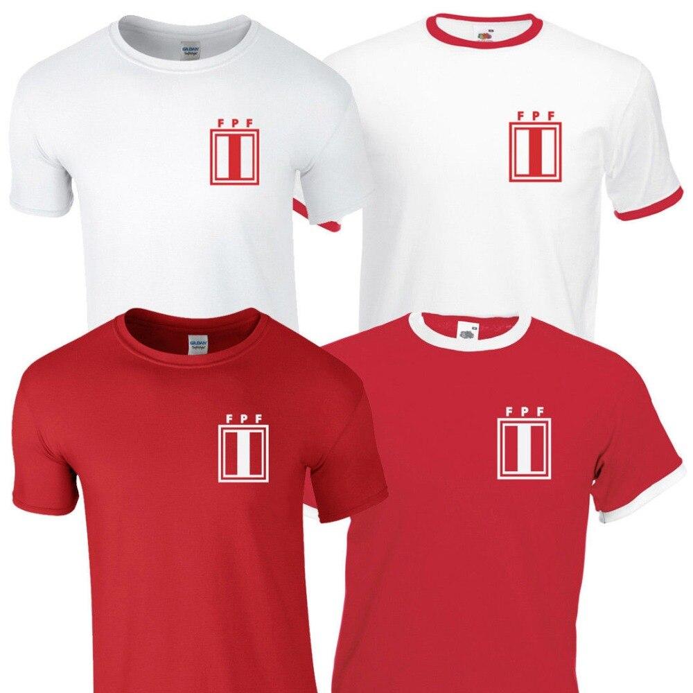 Superventas, Top ropa para hombre, camiseta retro de Perú, 2019, fútbol nacional, Kit de futbolista, camiseta estampada para hombres y niños, camiseta para hombre