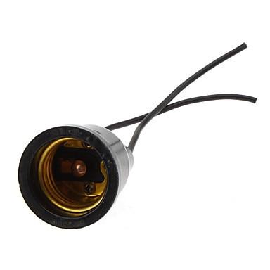10 piezas impermeable portalámparas E27 Base Socket titular de la lámpara
