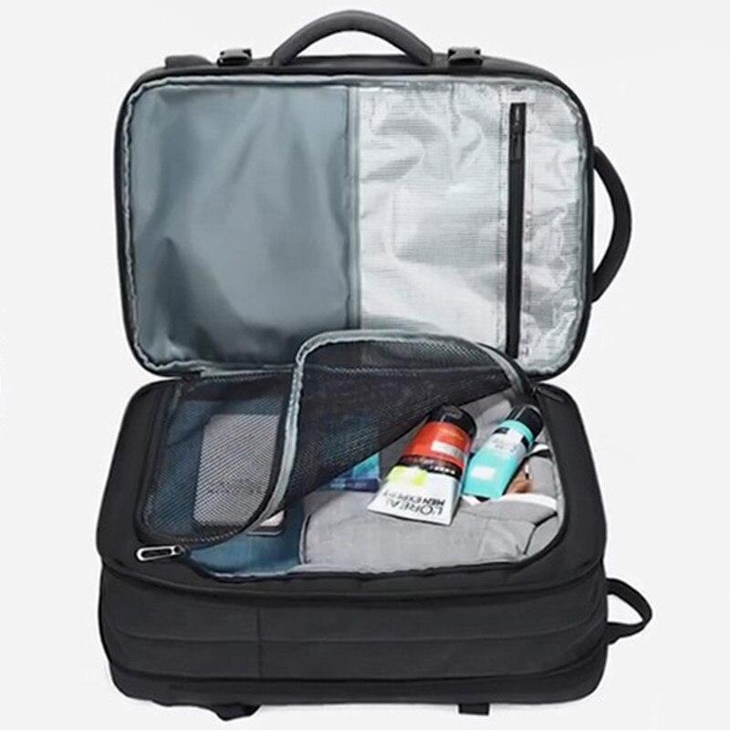 محمول على ظهره السفر اللوحي حقيبة النساء الرجال أعمال العودة حزمة 37 L كبيرة الذكور Bagpack الذكية مكافحة سرقة الذكور 15.6 قابلة عودة
