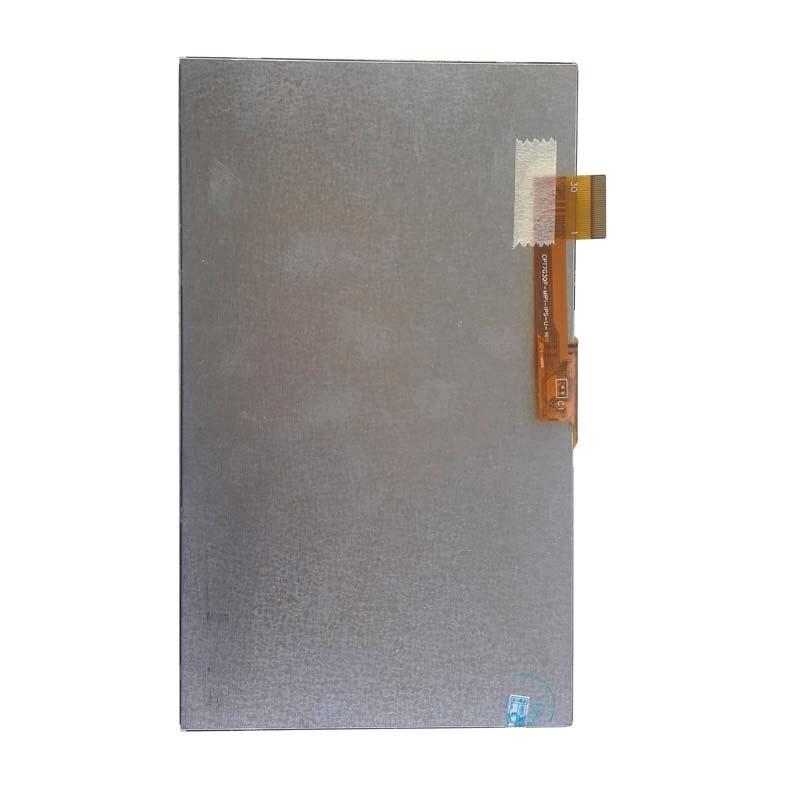 Novo 7 inch inch polegada display lcd matriz para irbis tz709 3g tablet 30 pinos módulo de lente da tela lcd replacemen