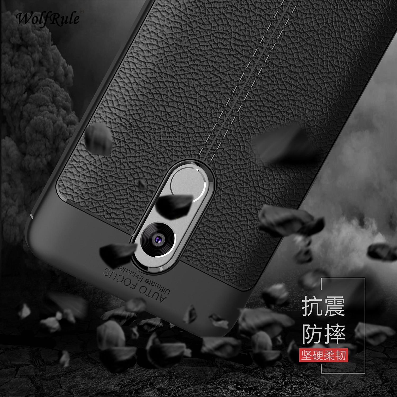 "WolfRule Xiaomi Redmi Note 4 Case Redmi Note 4X Cover 5.5"" Shockproof Luxury Leather TPU Case For Xiaomi Redmi Note 4X Fundas"
