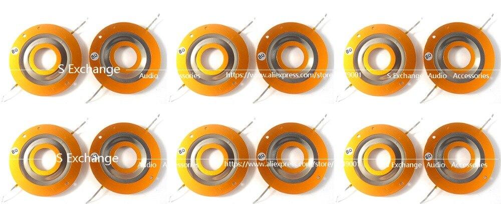 12 unids/lote alta calidad diafragma para JBL 2402 de 2404, 2405 75 76 77 8 Ohms o 16 Ohmios