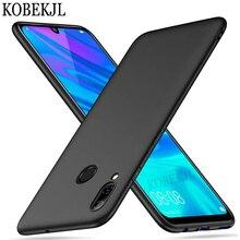 Huawei P Smart 2019 Fall 6,21 Weiche Matte Silikon Zurück Abdeckung Telefon Fall Für Huawei P Smart 2019 PSmart POT-LX1 TOPF LX1 Smart2019