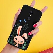 Coque ASINA Silicone pour Xiaomi Redmi 5 Plus coque mignon Original 3D Relief pare-chocs pour Redmi Note 5 6 Pro Fundas animaux Coques Capa
