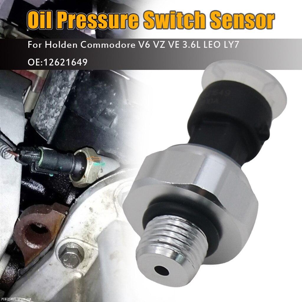 CARPRIE, nuevo Sensor de presión de aceite de motor, manómetro, interruptor emisor, Unidad de envío 1/8 NPT 80x40mm para Buick 12621649 126747