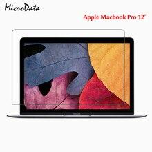 Protecteur décran en verre trempé Transparent pour MacBook Pro 12