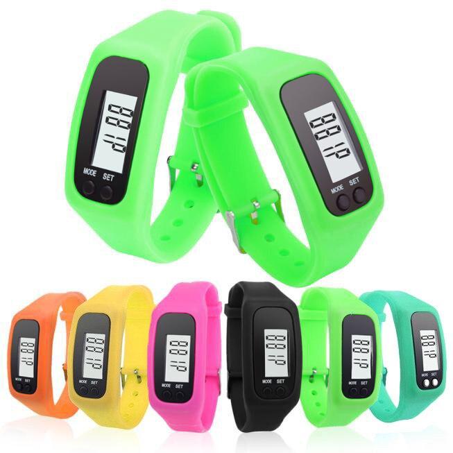 Reloj de podómetro Neutral LCD, reloj deportivo para caminar, distancia, contador de pasos, Tarjeta para correr, contador de pasos, podómetro deportivo portátil