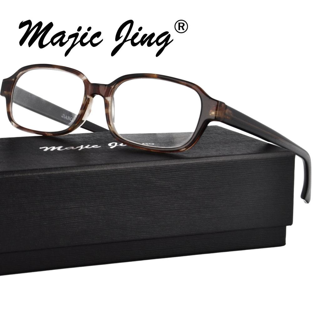 Magic Jing Plastic   presbyopia glasses reading eyewear eyeglasses full rim optical frames unisex  30128