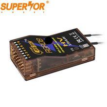 RGR08 8ch de telemetría compatible 8,4 V receptor para Graupner caliente GR-12L GR-32L MZ-32 MZ-12 MZ-10 MC-28 MC-26 X-8E X-4S