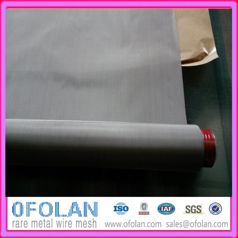 Прочный Коррозионностойкий никелевый фильтр экран 200 сетка 500x1000 мм запас