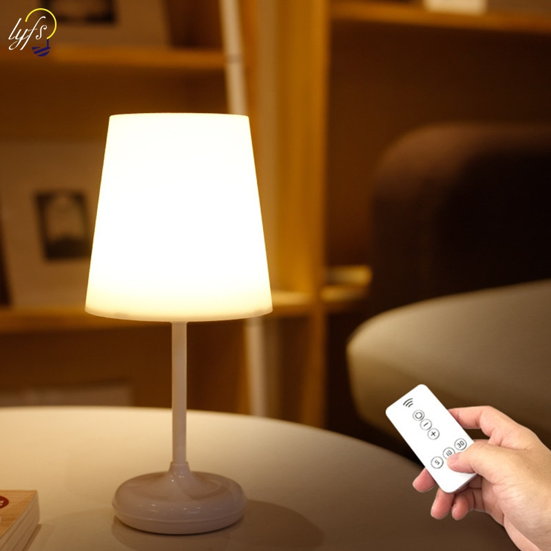 LED Reading Eye Protection Desk Lamp Touch Dimmable USB Charging With Remote Control Table Lamp For Lighting Night Lights original royole smart memory desk lamp touch sensor dimming table eye protection folding for learning working charging novelty