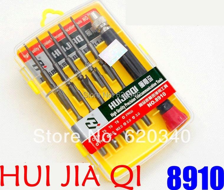 Livraison gratuite 2013 nouveau 11 in1 multi-usages précision tournevis Set ordinateur portable téléphone numérique Chaiji Service outils 8910