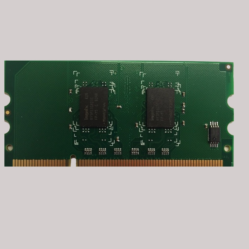 Vilaxh CB423A 256M الذاكرة RAM 144PIN ل HP يزر CP1510 P2015 P2055 P3005 CP2025 CM5225 CM2320 CP1518 M2727 طابعة