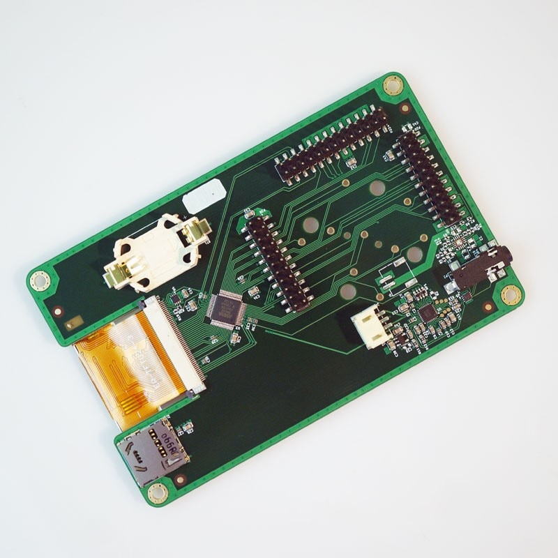 1MHz a 6GHz SDR transceptor transmisor para HackRF estoy FM SSB ADS-B SSTV Radio PortaPack Junta