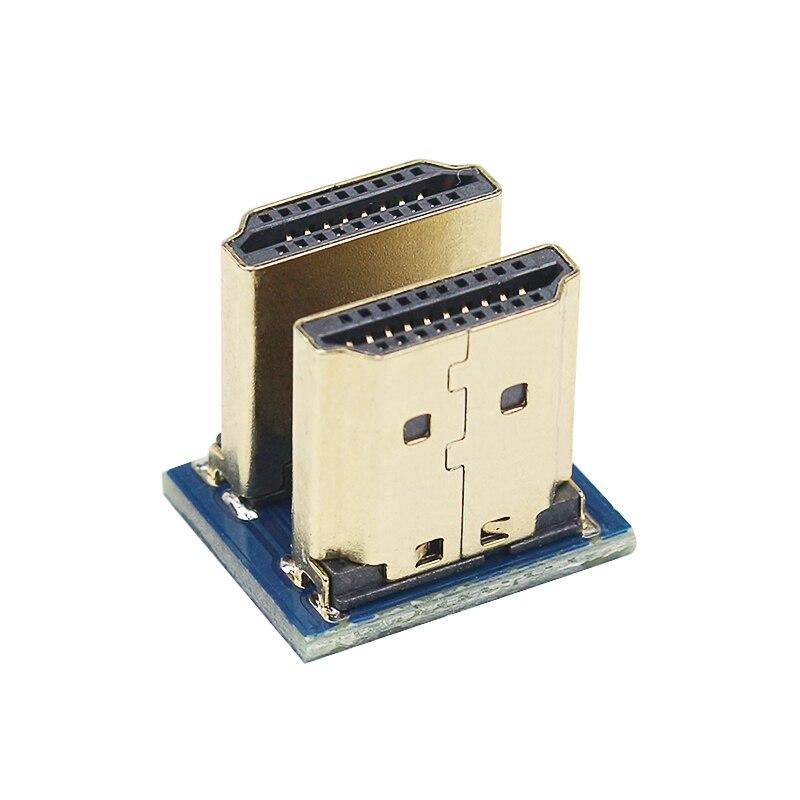 Raspberry Pi 3 HDMI zu HDMI Adapter Stecker auf Stecker Konverter für Raspberry Pi 3,5 zoll oder 5 zoll HDMI bildschirm