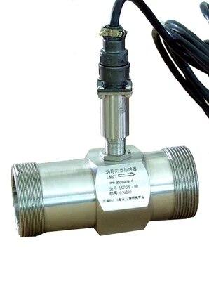 Conexões de Sinais de Saída de Turbinas Flowmeter Npn entre em Contato com o Controle do Plc Sensor Transmitter Rosca – Lwgy-50