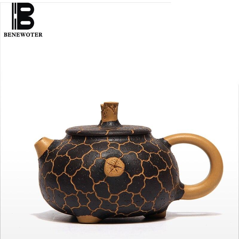 180 мл китайский Yixing чайный горшок зеленый Mud Ore Gong Chun горшок знаменитый полностью ручной работы Shi Xi чайник чайный набор кунг-фу чайный сервиз ...
