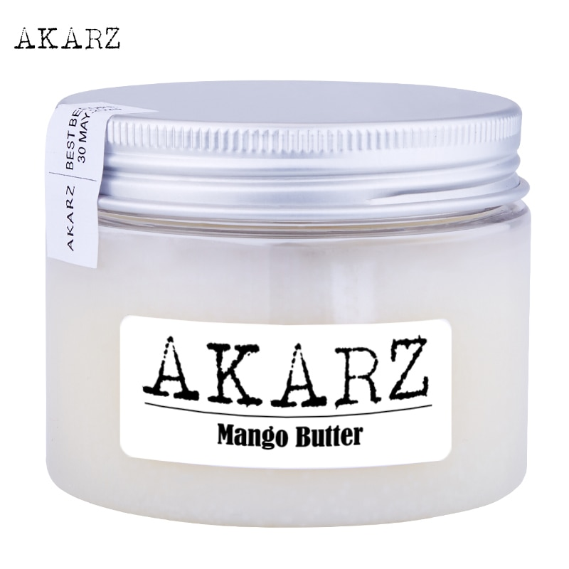 AKARZ brand Mango butter high-quality origin Southeast Asia white solid Skin care face products Cosm