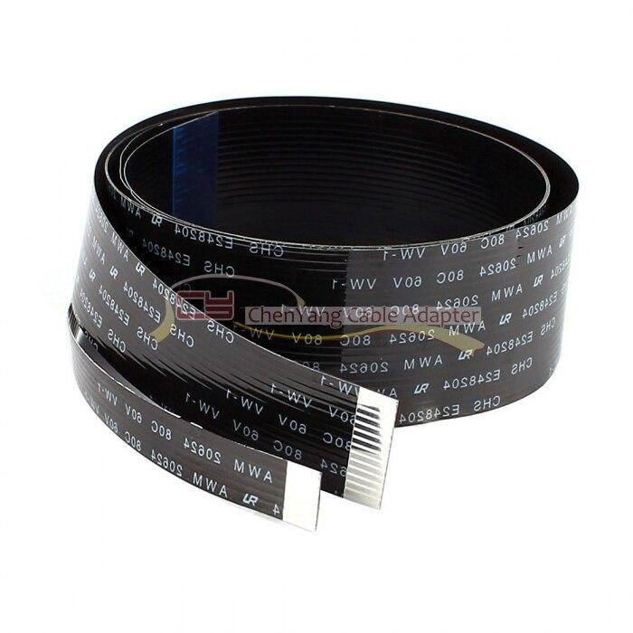 100 TEILE/BEUTEL CYFPV FPC Band Flach 0,5mm Pitch 20pin Kabel für HDMI HDTV FPV Multicopter Luftaufnahmen 20 cm 10 cm