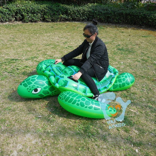 Pool Inflatable Toys Inflatable Turtle Swimming Float Inflatable Float Mattress Water Fun Raft Boia Piscina