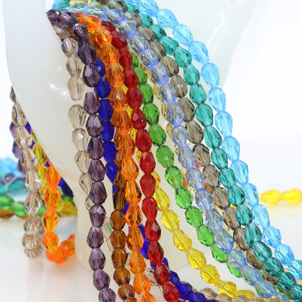 Crystal Tsim beads High Quality(95PCS/LOT)5MM Natural Stone Jewelry, Felting Balls Make Necklaces,Dress Trims And Rhinestone