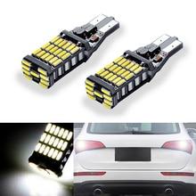 2x T15 LED Wedge Bulb W16W Led Lamp Licht Canbus Automobiles Backup Reverse Licht Voor audi A1 A3 A4L A6L a5 A7 Q3 Q5 Q7 S5 TT